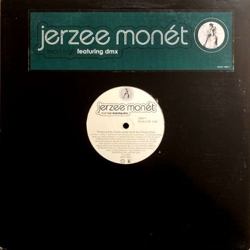 <img class='new_mark_img1' src='https://img.shop-pro.jp/img/new/icons3.gif' style='border:none;display:inline;margin:0px;padding:0px;width:auto;' />JERZEE MONET feat. DMX - MOST HIGH (12) (VG+/VG+)