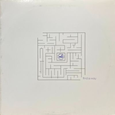 A TRIBE CALLED QUEST - FIND A WAY (12) (VG+/VG+)