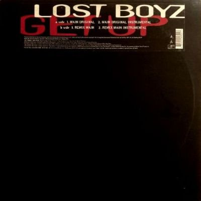 LOST BOYZ - GET UP (12) (VG+/VG+)
