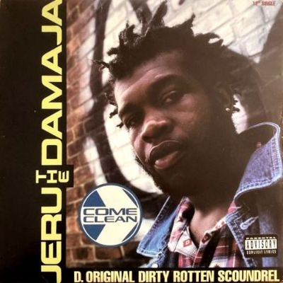 <img class='new_mark_img1' src='https://img.shop-pro.jp/img/new/icons3.gif' style='border:none;display:inline;margin:0px;padding:0px;width:auto;' />JERU THE DAMAJA - COME CLEAN (12) (VG+/VG)