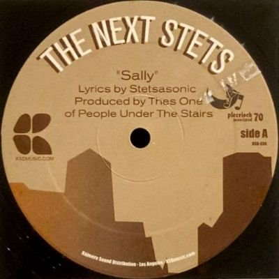 THE NEXT STETS - SALLY / DBC LET THE MUSIC PLAY (12) (VG+/VG+)