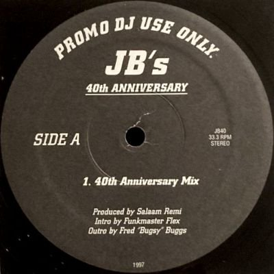 <img class='new_mark_img1' src='https://img.shop-pro.jp/img/new/icons3.gif' style='border:none;display:inline;margin:0px;padding:0px;width:auto;' />JAMES BROWN - JB'S 40TH ANNIVERSARY (12) (VG+)