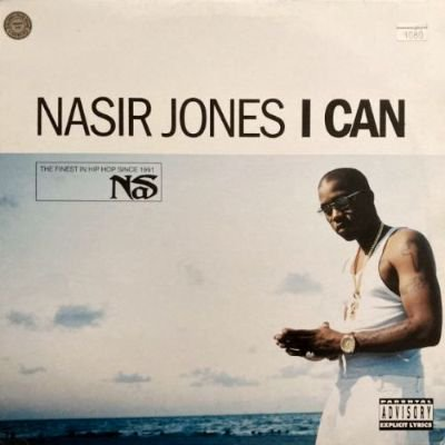 NASIR JONES - I CAN (12) (UK) (VG+/VG+)