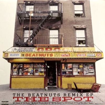 <img class='new_mark_img1' src='https://img.shop-pro.jp/img/new/icons3.gif' style='border:none;display:inline;margin:0px;padding:0px;width:auto;' />THE BEATNUTS - THE SPOT (THE BEATNUTS REMIX EP) (12) (VG+/EX)