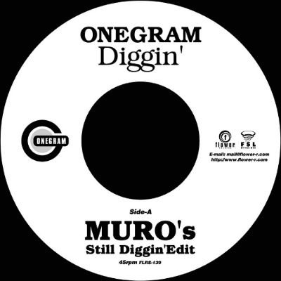 <img class='new_mark_img1' src='https://img.shop-pro.jp/img/new/icons3.gif' style='border:none;display:inline;margin:0px;padding:0px;width:auto;' />ONEGRAM - DIGGIN' (MURO'S STILL DIGGIN' EDIT) (7) (NEW)