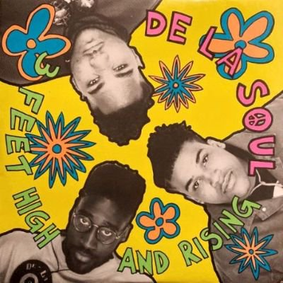 <img class='new_mark_img1' src='https://img.shop-pro.jp/img/new/icons3.gif' style='border:none;display:inline;margin:0px;padding:0px;width:auto;' />DE LA SOUL - 3 FEET HIGH AND RISING (LP) (IT) (VG+/EX)