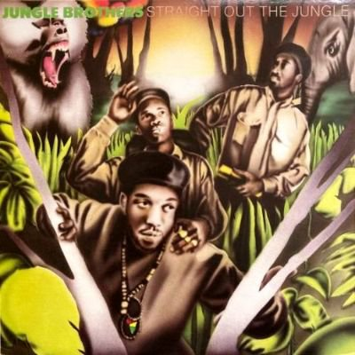 <img class='new_mark_img1' src='https://img.shop-pro.jp/img/new/icons3.gif' style='border:none;display:inline;margin:0px;padding:0px;width:auto;' />JUNGLE BROTHERS - STRAIGHT OUT THE JUNGLE (LP) (RE) (VG+/VG+)
