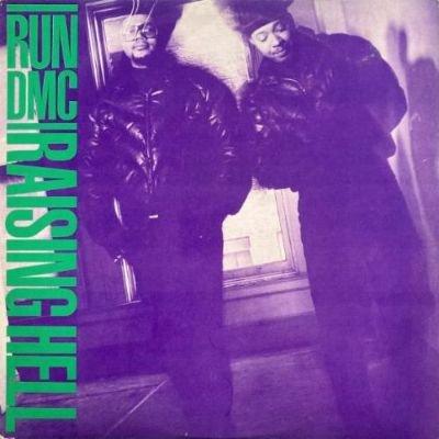RUN-D.M.C. - RAISING HELL (LP) (VG+/VG+)