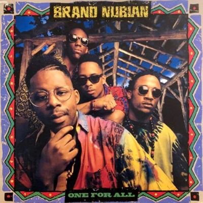 <img class='new_mark_img1' src='https://img.shop-pro.jp/img/new/icons3.gif' style='border:none;display:inline;margin:0px;padding:0px;width:auto;' />BRAND NUBIAN - ONE FOR ALL (LP) (DE) (VG+/VG+)