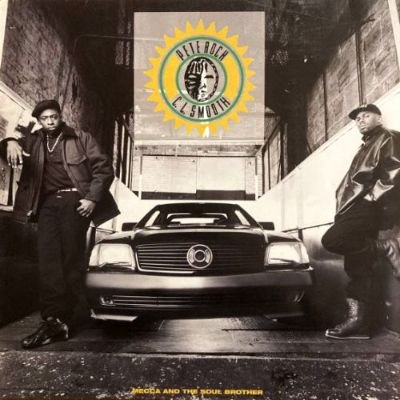 <img class='new_mark_img1' src='https://img.shop-pro.jp/img/new/icons3.gif' style='border:none;display:inline;margin:0px;padding:0px;width:auto;' />PETE ROCK & CL SMOOTH - MECCA AND THE SOUL BROTHER (LP) (DE) (VG/VG+)