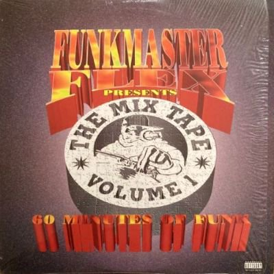 <img class='new_mark_img1' src='https://img.shop-pro.jp/img/new/icons3.gif' style='border:none;display:inline;margin:0px;padding:0px;width:auto;' />FUNKMASTER FLEX - THE MIX TAPE VOL.1 (60 MINUTES OF FUNK) (LP) (EX/EX)