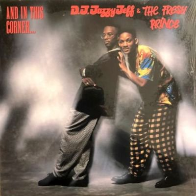 <img class='new_mark_img1' src='https://img.shop-pro.jp/img/new/icons3.gif' style='border:none;display:inline;margin:0px;padding:0px;width:auto;' />DJ JAZZY JEFF & THE FRESH PRINCE - AND IN THIS CORNER... (LP) (VG+/EX)