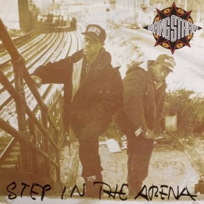 GANG STARR - STEP IN THE ARENA (LP) (RE) (VG+/VG+)