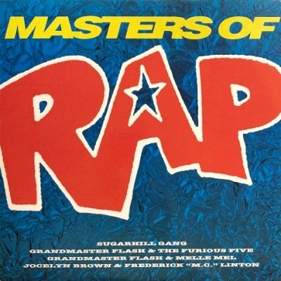 <img class='new_mark_img1' src='https://img.shop-pro.jp/img/new/icons3.gif' style='border:none;display:inline;margin:0px;padding:0px;width:auto;' />V.A. - MASTERS OF RAP (LP) (VG+/VG+)
