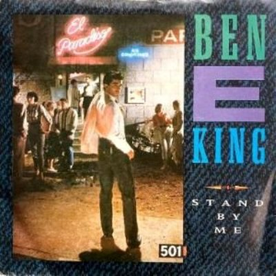 BEN E. KING / THE COASTERS - STAND BY ME / YAKETY YAK (7) (VG+/VG+)