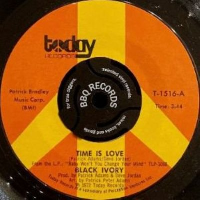 BLACK IVORY - TIME IS LOVE (7) (EX)