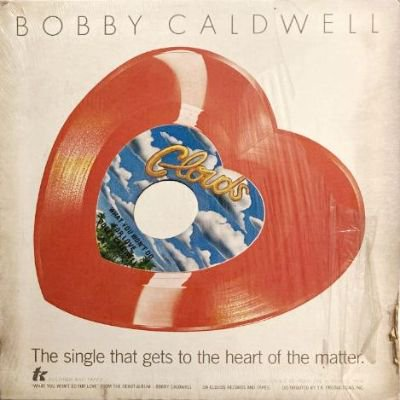 <img class='new_mark_img1' src='https://img.shop-pro.jp/img/new/icons3.gif' style='border:none;display:inline;margin:0px;padding:0px;width:auto;' />BOBBY CALDWELL - WHAT YOU WON'T DO FOR LOVE (7) (HEART) (VG+/VG)