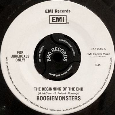 BOOGIEMONSTERS - THE BEGINNING OF THE END / GOD SOUND (7) (VG+)