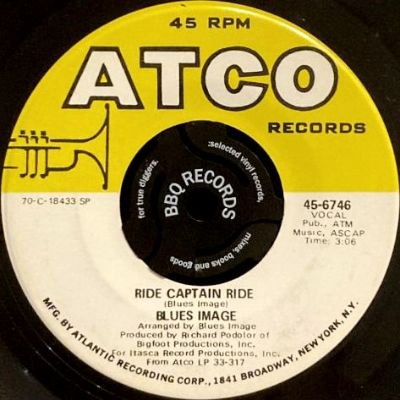 BLUES IMAGE - RIDE CAPTAIN RIDE / PAY MY DUES (7) (VG+)