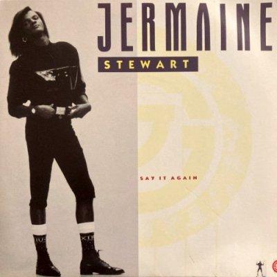 JERMAINE STEWART - SAY IT AGAIN (7) (UK) (PROMO) (VG+/VG+)