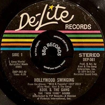 KOOL & THE GANG - HOLLYWOOD SWINGING / DUJII (7) (VG)