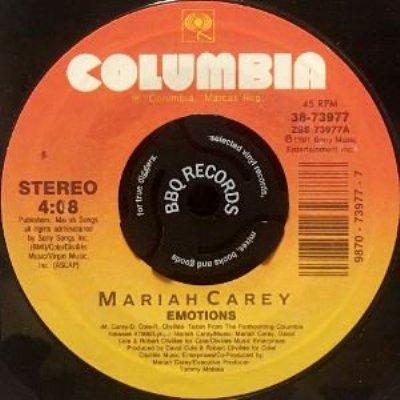 MARIAH CAREY - EMOTIONS / VANISHING (7) (EX)