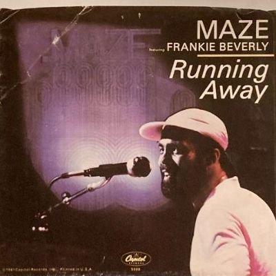 MAZE feat. FRANKIE BEVERLY - RUNNING AWAY (7) (VG/VG+)