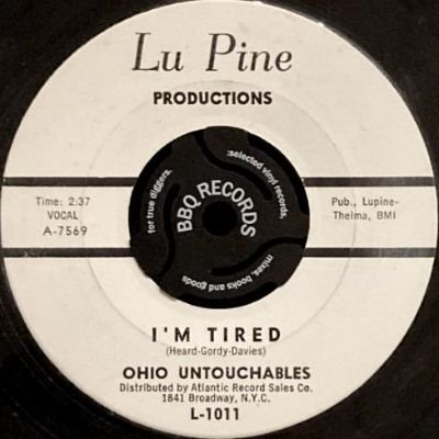 OHIO UNTOUCHABLES - I'M TIRED / UP TOWN (7) (VG+)