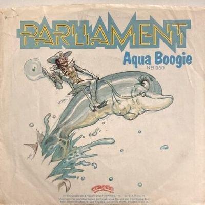 PARLIAMENT - AQUA BOOGIE (7) (VG/VG+)