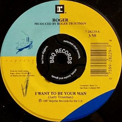 <img class='new_mark_img1' src='https://img.shop-pro.jp/img/new/icons3.gif' style='border:none;display:inline;margin:0px;padding:0px;width:auto;' />ROGER - I WANT TO BE YOUR MAN (7) (VG+)