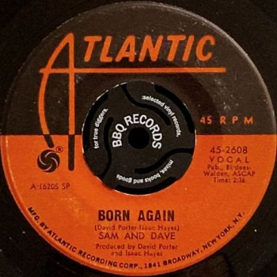 <img class='new_mark_img1' src='https://img.shop-pro.jp/img/new/icons3.gif' style='border:none;display:inline;margin:0px;padding:0px;width:auto;' />SAM & DAVE - BORN AGAIN / GET IT (7) (VG)