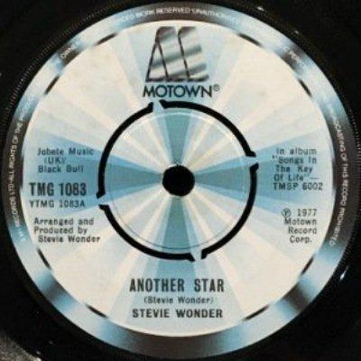 STEVIE WONDER - ANOTHER STAR / CREEPIN' (7) (UK) (EX/VG+)