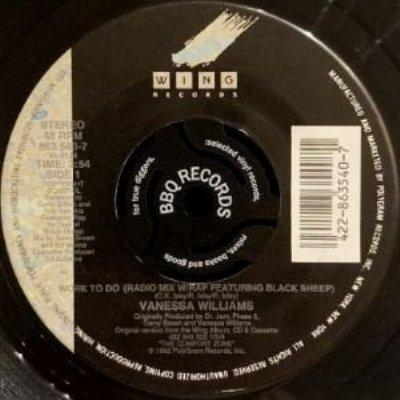 VANESSA WILLIAMS - WORK TO DO (7) (VG+)