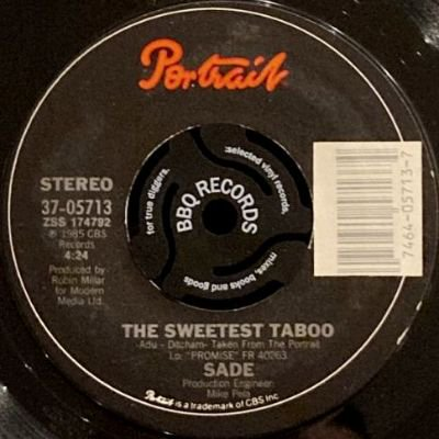 <img class='new_mark_img1' src='https://img.shop-pro.jp/img/new/icons3.gif' style='border:none;display:inline;margin:0px;padding:0px;width:auto;' />SADE - THE SWEETEST TABOO (7) (EX)