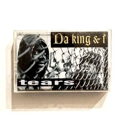 <img class='new_mark_img1' src='https://img.shop-pro.jp/img/new/icons3.gif' style='border:none;display:inline;margin:0px;padding:0px;width:auto;' />DA KING & I - TEARS (REMIX) (CASSETTE) (VG+/VG+)