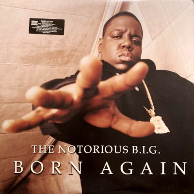 <img class='new_mark_img1' src='https://img.shop-pro.jp/img/new/icons3.gif' style='border:none;display:inline;margin:0px;padding:0px;width:auto;' />NOTORIOUS B.I.G. - BORN AGAIN (LP) (VG+/VG+)