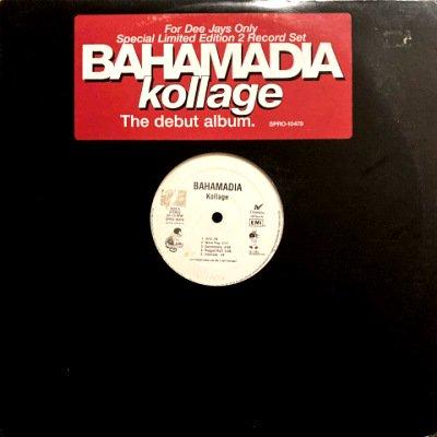 BAHAMADIA - KOLLAGE (LP) (PROMO) (VG+/VG+)