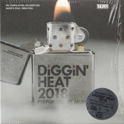 MURO - DIGGIN' HEAT 2018 (CD) (DJ MIX) (EX/EX)