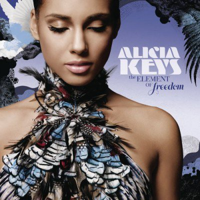 ALICIA KEYS - THE ELEMENT OF FREEDOM (CD) (VG+/VG+)