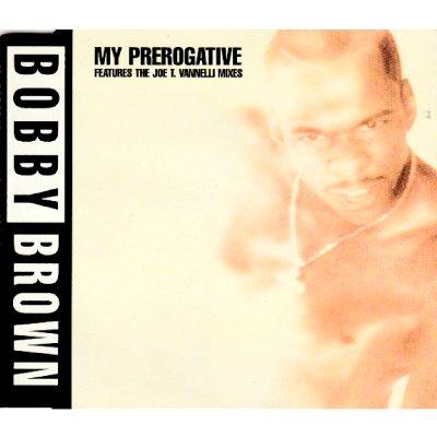 BOBBY BROWN - MY PREROGATIVE (CD) (SINGLE) (EX/VG+)