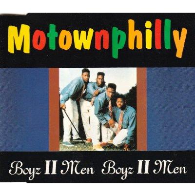 BOYZ II MEN - MOTOWNPHILLY (CD) (SINGLE) (VG/VG+)