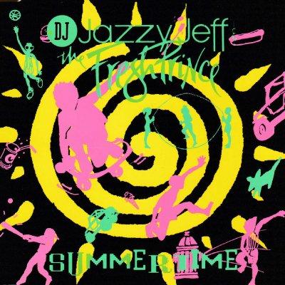 DJ JAZZY JEFF & THE FRESH PRINCE - SUMMERTIME (CD) (SINGLE) (VG+/VG)