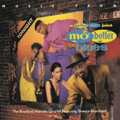 <img class='new_mark_img1' src='https://img.shop-pro.jp/img/new/icons3.gif' style='border:none;display:inline;margin:0px;padding:0px;width:auto;' />V.A. - BRANFORD MARSALIS QUARTET - MUSIC FROM MO' BETTER BLUES (O.S.T.) (CD) (VG+/VG)