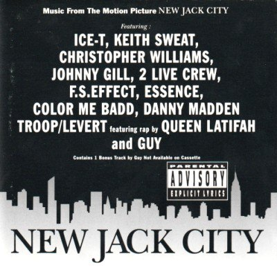 <img class='new_mark_img1' src='https://img.shop-pro.jp/img/new/icons3.gif' style='border:none;display:inline;margin:0px;padding:0px;width:auto;' />V.A. - NEW JACK CITY (O.S.T.) (CD) (VG+/VG)