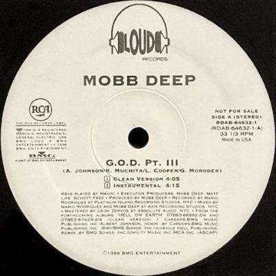 MOBB DEEP - G.O.D. PT. III (12) (PROMO) (EX)