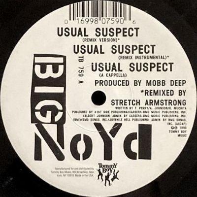 BIG NOYD - THE USUAL SUSPECT (REMIX) (12) (EX/EX)
