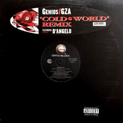 <img class='new_mark_img1' src='https://img.shop-pro.jp/img/new/icons3.gif' style='border:none;display:inline;margin:0px;padding:0px;width:auto;' />GENIUS / GZA - COLD WORLD REMIX (12) (VG+/VG+)