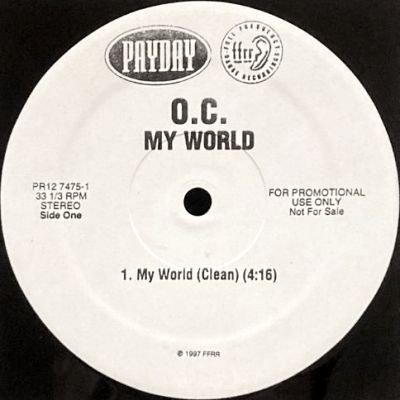 O.C. - MY WORLD (12) (PROMO) (VG+)