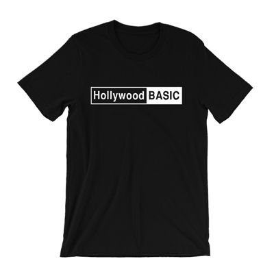 <img class='new_mark_img1' src='https://img.shop-pro.jp/img/new/icons3.gif' style='border:none;display:inline;margin:0px;padding:0px;width:auto;' />B-SIDE BUTTONS & SHIRTS - HOLLYWOOD BASIC T-SHIRT (NEW)