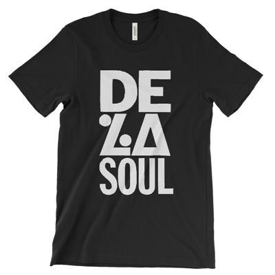<img class='new_mark_img1' src='https://img.shop-pro.jp/img/new/icons3.gif' style='border:none;display:inline;margin:0px;padding:0px;width:auto;' />B-SIDE BUTTONS & SHIRTS - DE LA SOUL IS DEAD T-SHIRT (BLACK) (NEW)